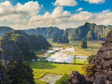 tam:  Tam coc national park. Vietnam Stock Photo