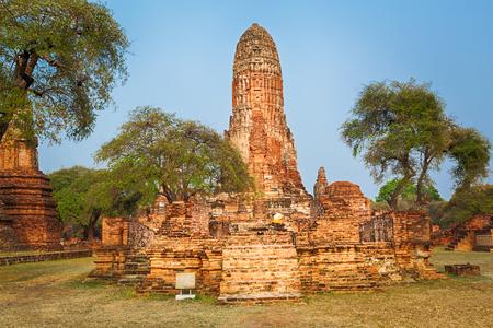 phra nakhon si ayutthaya: Wat Phra Ram. Ayutthaya historical park. Stock Photo