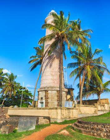 onshore: Onshore Lighthouse in Galle, Sri Lanka