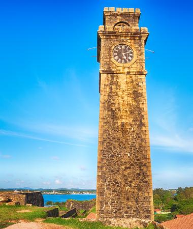 galle: Anthonisz Memorial Clock Tower in Galle, Sri Lanka