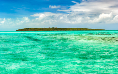 most: View of a sea at day time. Mauritius island. Panorama Stock Photo