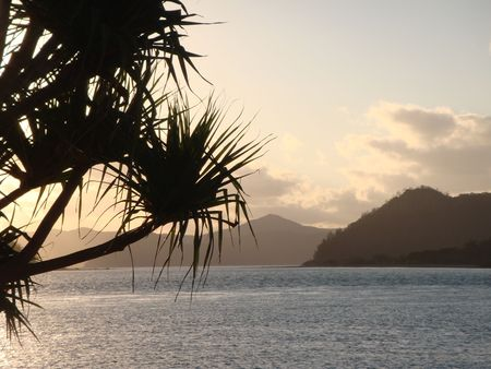 whitsundays: Dusk, Whitsundays, Queensland Australia