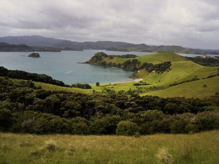 Urupukapuka Bay, Bay of Islands New Zealand photo