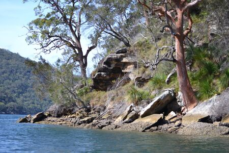 Peaceful Hawkesbury inlet, Sydney, Australia Stock Photo - 17114921
