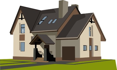 suburbia: house