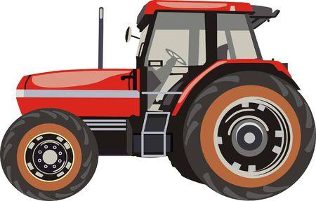Tracteur Banque d'images - 27578173
