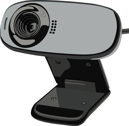 webcamera: web-camera Illustration