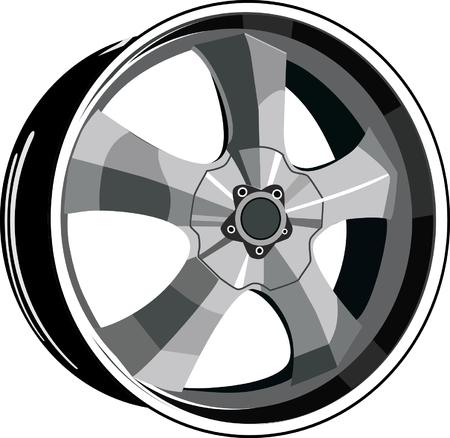wheel disk