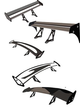 Car s spoilers Stock Vector - 30112415
