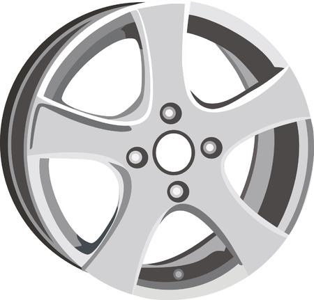 titanium: wheel disk