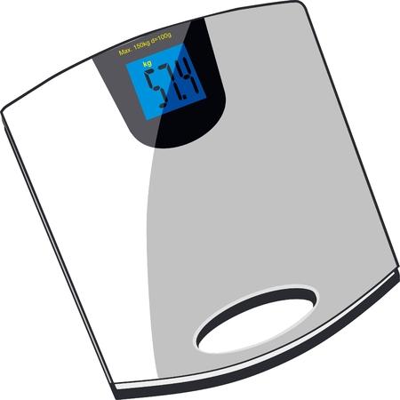 scales Stock Illustratie