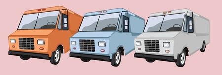 convoy: camion di consegna collezioni