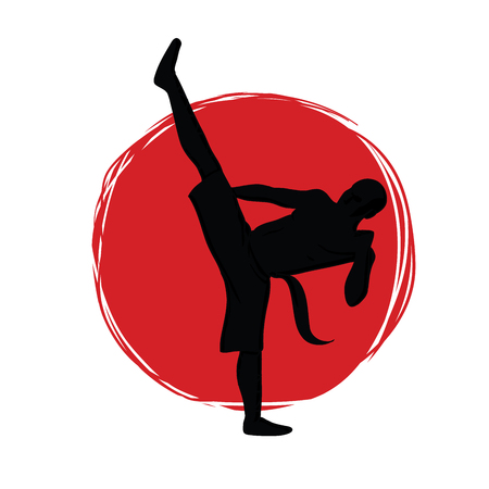 Symbol for the club of martial arts