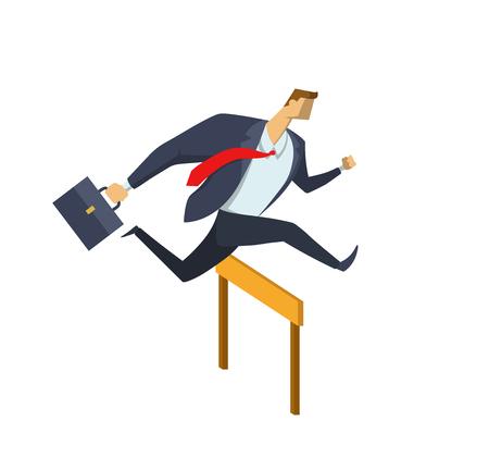 Race for success Concept Illustration