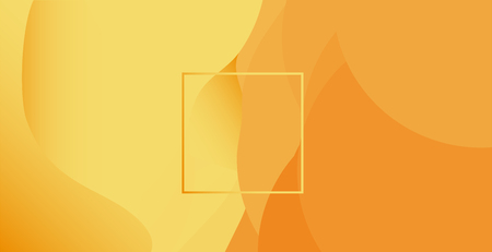 Abstract sandy color background with rectangle in the middle. Abstract vector illustration, horizontal. 写真素材 - 127709942