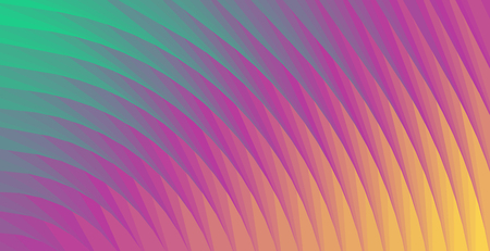 Abstract spiral neon color background. Abstract vector illustration, horizontal.