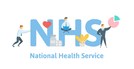 NHS, National Health Service.