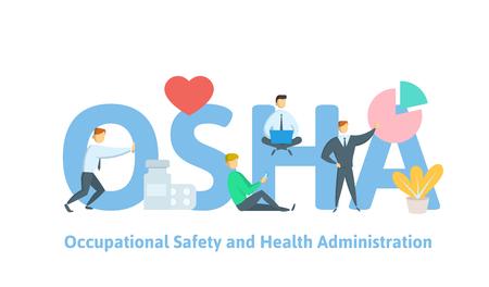 HSE - Health Safety Environment, acronym concept Иллюстрация