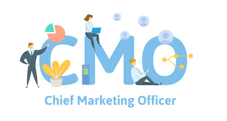 CMO, Chief Marketing Officer, acronym business concept