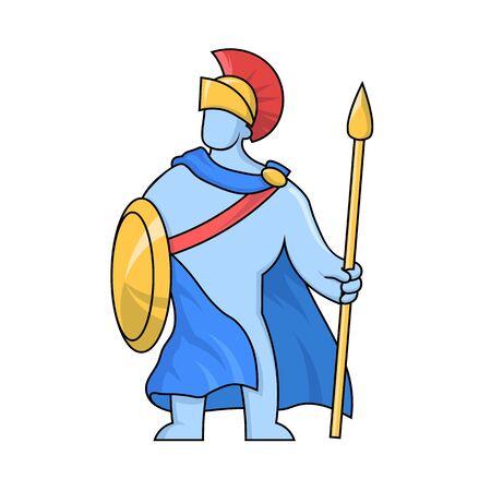 Ares, ancient Greek god of war.