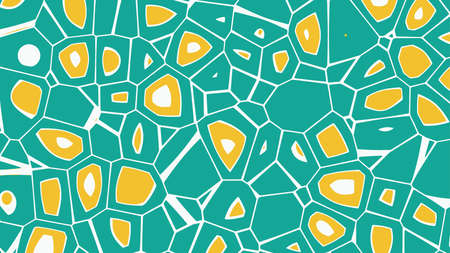 Cellular abstract background. Multicolored cells. Vector illustration.