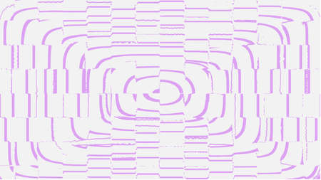 Background for the poster in the style of glitch. Distorted rectangles, purple color.