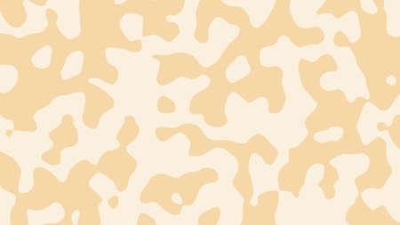 Abstract color background with fluid shapes, vector illustration. Ilustração