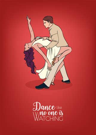 Beautiful partner dance.