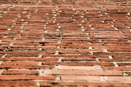 brick wall texture angle shot Stock Photo - 14595422