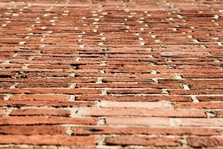 brick wall texture angle shot Stock Photo - 14584191