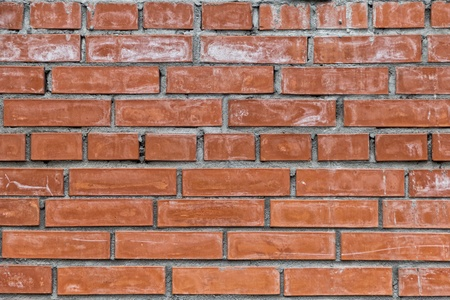 red dirty brick wall texture with cracks Stock Photo - 15253561