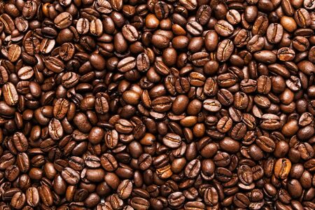 roated coffee beans, can be used as a background photo