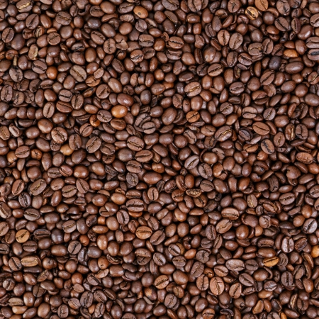 medium roated fresh coffee beans, background photo