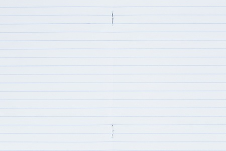 ruled paper: lined paper page blue lines, can be background