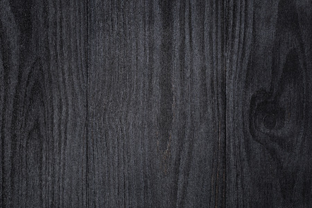 painted wood: texture of painted pine wood with black semiglossy paint, high detailed Stock Photo