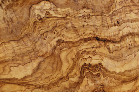 high detailed texture of olive wood board, natural wood Banque d'images