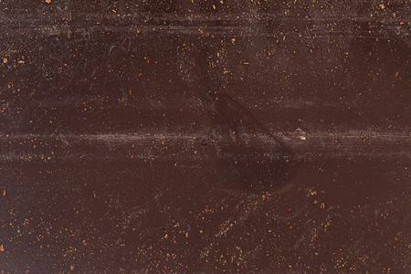texture of back of chocolate bar, close up