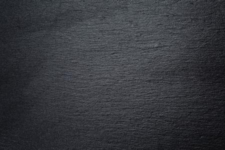 자연 블랙 슬레이트 바위의 질감