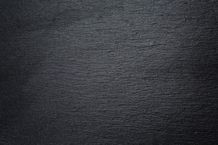 texture of natural black slate rock Stockfoto