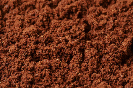 grounded arabica coffee photo