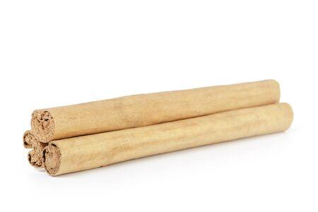 ceylon: true ceylon cinnamon sticks, isolated Stock Photo