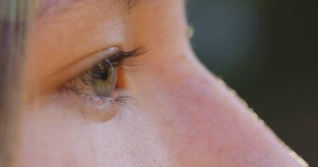 eye green: