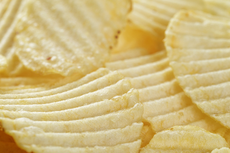 unhealthful: classic potato chips background, for food background