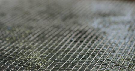 fiber grid to reinforce concrete countertop