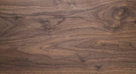 Echte zwarte walnoot houtstructuur met natuurlijke nerf