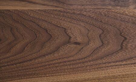 Echte schwarze Nussbaumholzstruktur mit natürlicher Maserung Standard-Bild