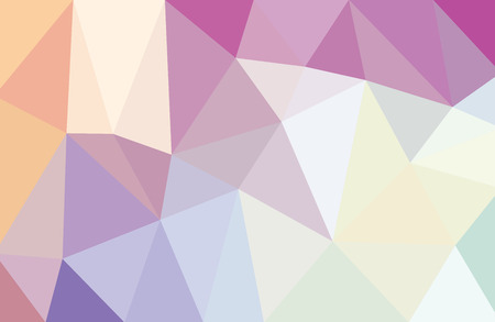 low poly abstract background light purple white Illustration