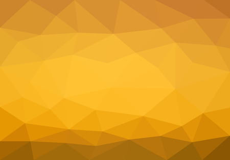 overflow: low polygon background polygon gold yellow overflow. Illustration