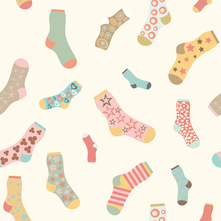 seamless texture vector background socks