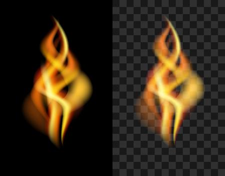 translucent: fire transparent translucent flame torch